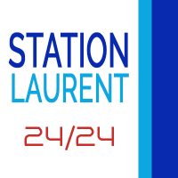 logo station laurent 24h/24